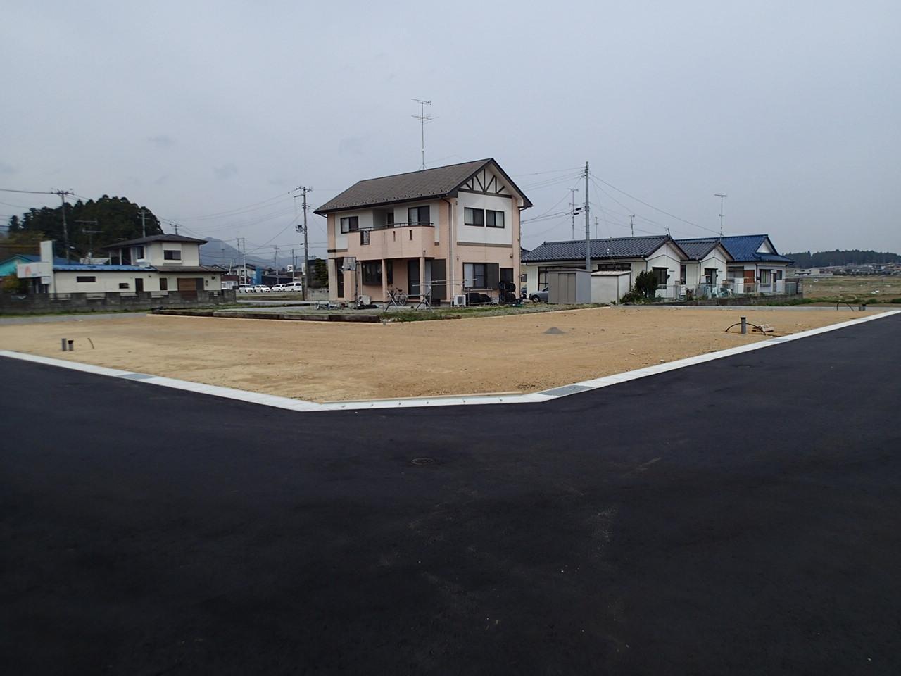 黒木諏訪田分譲地造成工事