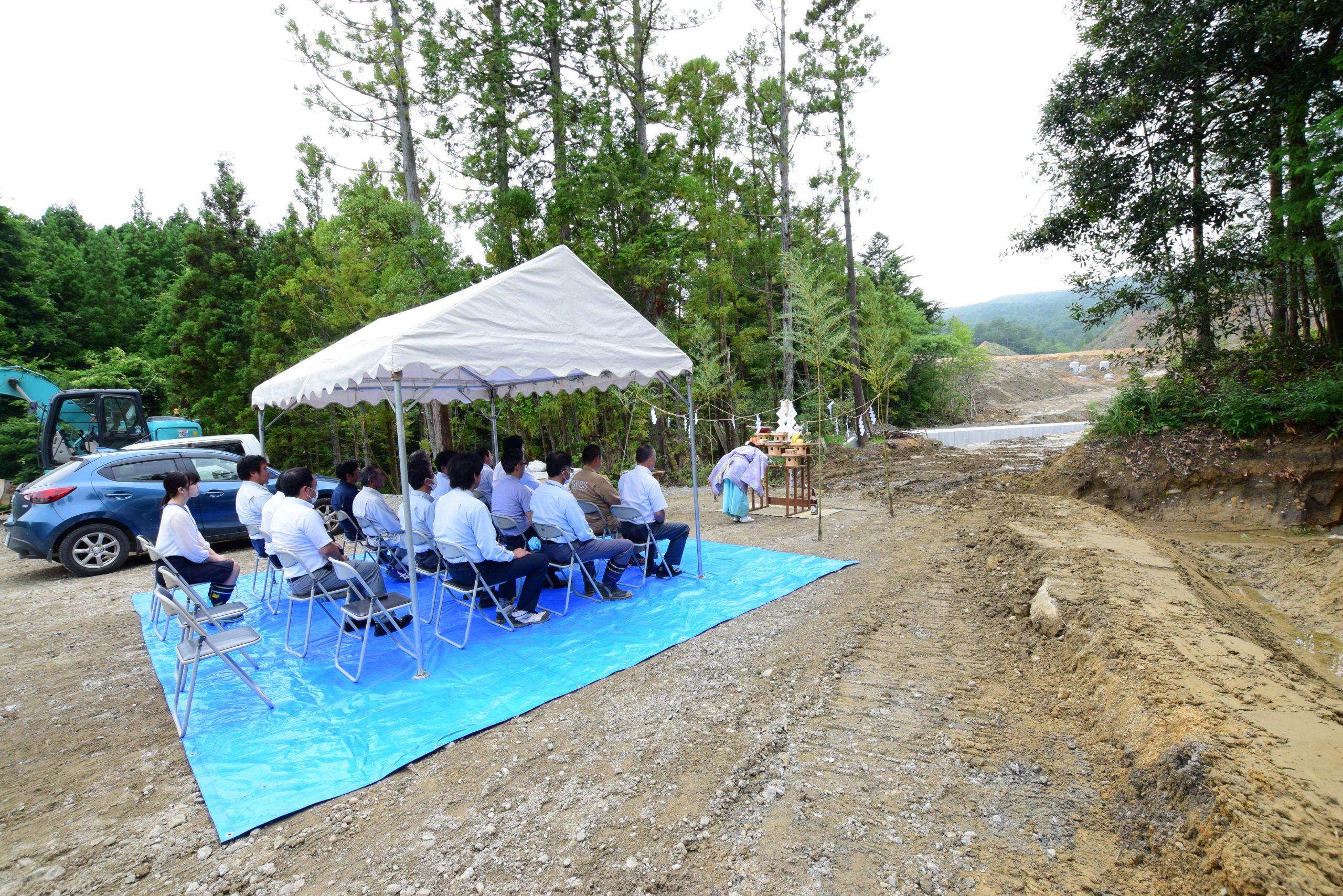 広野町サステナブルエナジー太陽光発電所造成工事 安全祈願祭